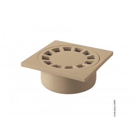 Siphon de cour 150x150 Sable