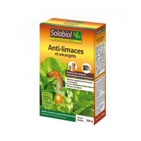 Anti limaces naturel 350g SOLABIOL
