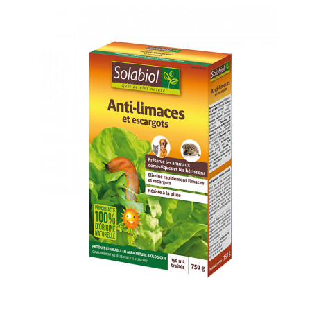 Anti limaces naturel 750g SOLABIOL