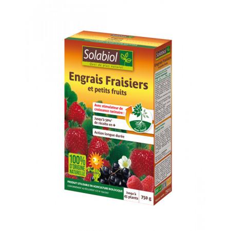 Engrais naturel fraisiers 750g SOLABIOL