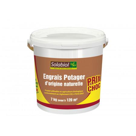 Engrais naturel pour le potager 7kg SOLABIOL