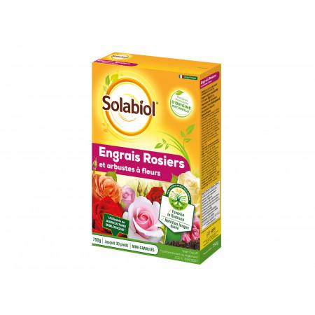 Engrais naturel rosiers 750g SOLABIOL