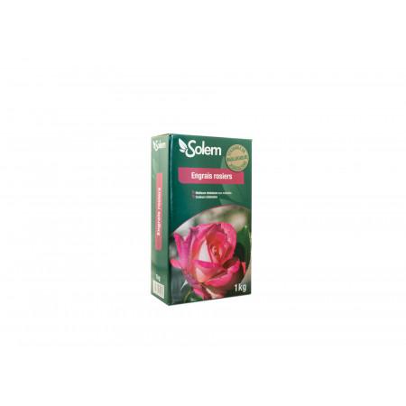 Engrais rosiers et arbustes à fleurs 1kg SOLEM