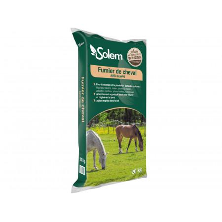 Fumier de cheval 20kg SOLEM