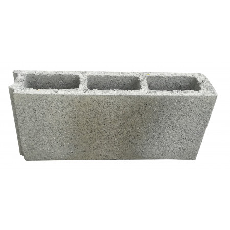 Bloc béton creux B40 500x100x250 mm