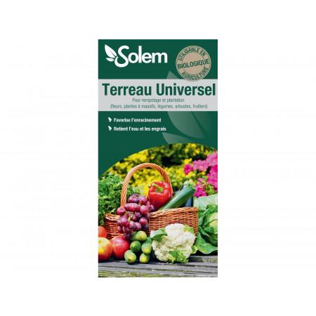 Terreau universel Bio 70L SOLEM