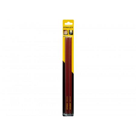 Crayon de charpentier 30cm rouge STANLEY x2