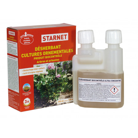 Désherbant cultures ornementales 250ml STAR JARDIN
