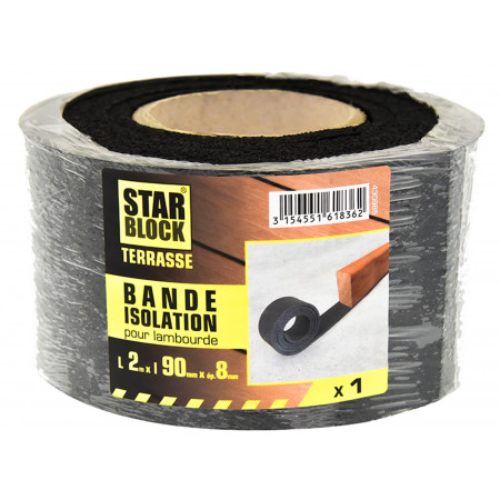 Bande d'isolation lambourdes Starblock® L.2m