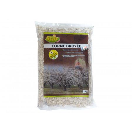 Engrais naturel de corne broyée 5kg BIO CORN