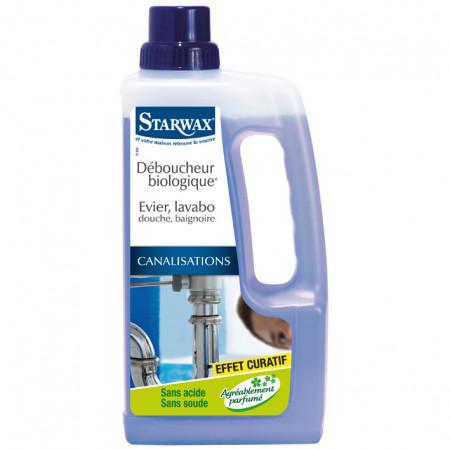 Déboucheur biologique liquide 1L STARWAX