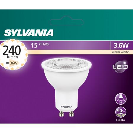 Ampoule à réflecteur GU10 3.5W 240lm 3000k