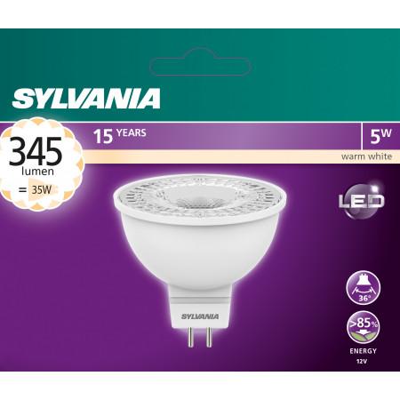 Ampoule à réflecteur GU5.3 5.5W 345lm 3000k