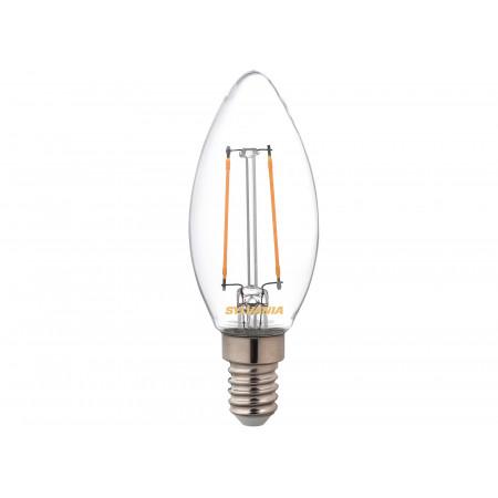 Ampoule LED flamme Rétro E14 470lm 2,7K SYLVANIA X3