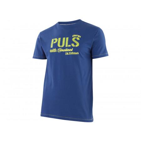 T-Shirt Dynamic Work bleu