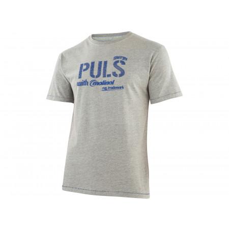 T-Shirt Dynamic Work gris chiné