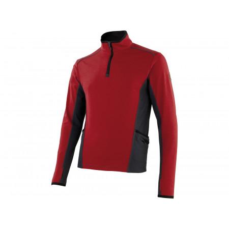 T-shirt Explore rouge/gris