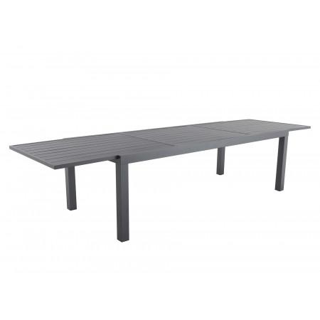 Table de jardin extensible 10/12 places Canberro