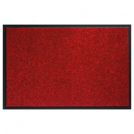 Tapis absorbant Mirande 60x80cm Rouge