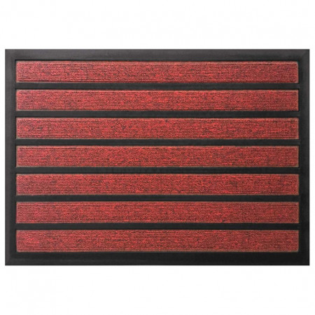 Tapis combi' absorbant 40x60cm Rouge
