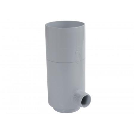 Collecteur d'eau à fermeture D80 Gris