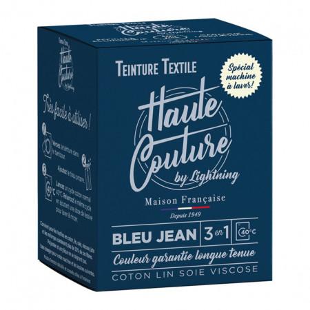 Teinture textile bleu jean 350g HAUTE COUTURE