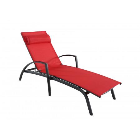 Bain de soleil Ascona Rouge