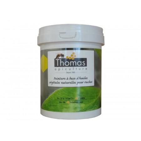 Peinture Thomas Apiculture à base végétale jaune 1L