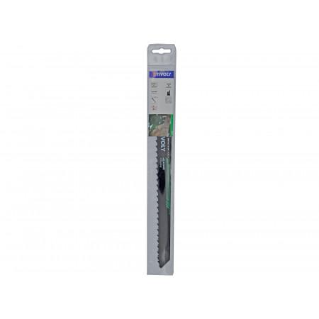 2 lames de scie sabre HCS débit élagage 150mm