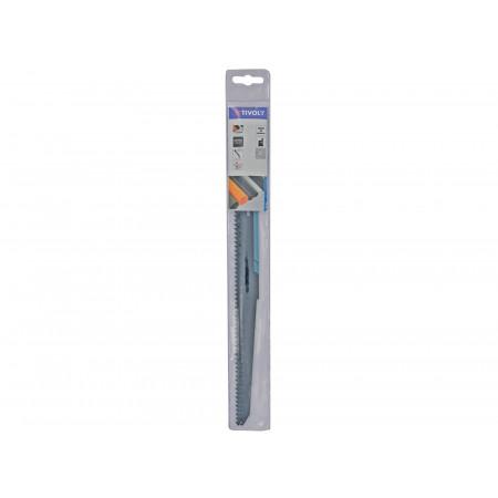 2 lames de scie sabre HCS finition plastique 250mm