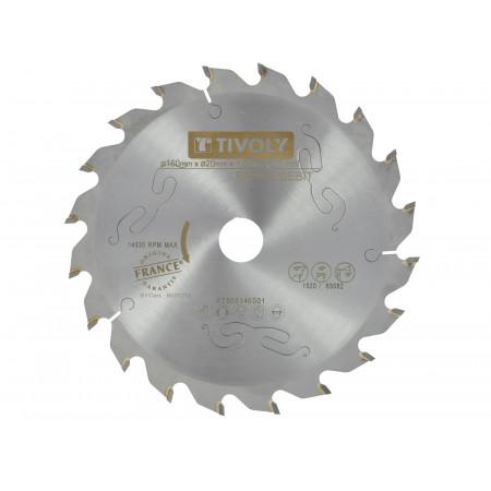 Lame scie circulaire débit Ø160-20 20 dents