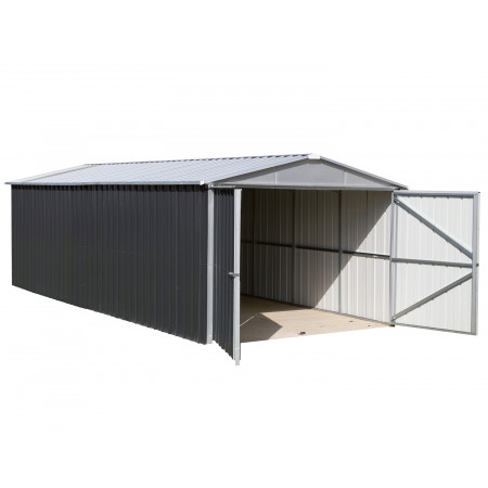 Garage métal 15.5m² Anthracite