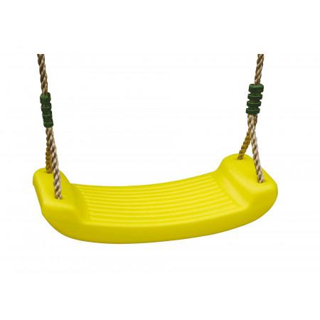Balançoire en plastique jaune 2,50m TRIGANO