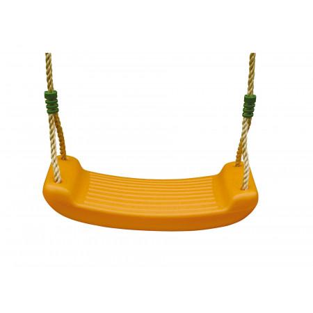 Balançoire en plastique orange 2,50m TRIGANO