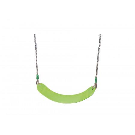 Balançoire en plastique souple vert pomme 2,5m TRIGANO