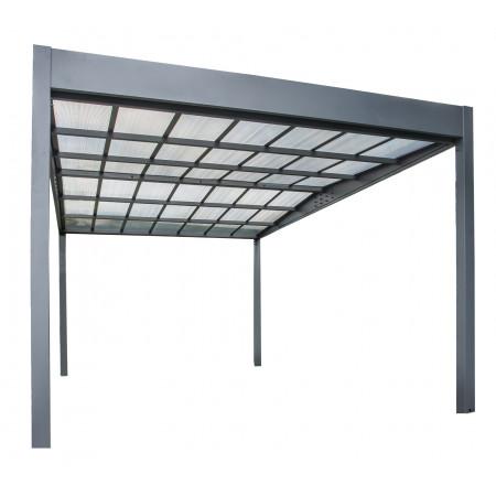 Carport métal Libeccio 16,60m²