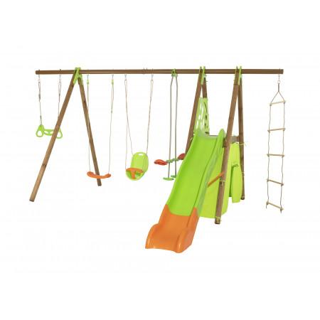 Portique balançoire bois/métal Legato