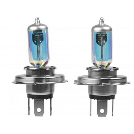 Ampoule iode H4 bleu x2
