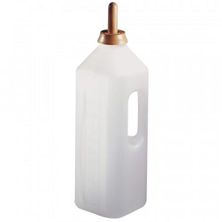 Biberon à veau en plastique 2 litres