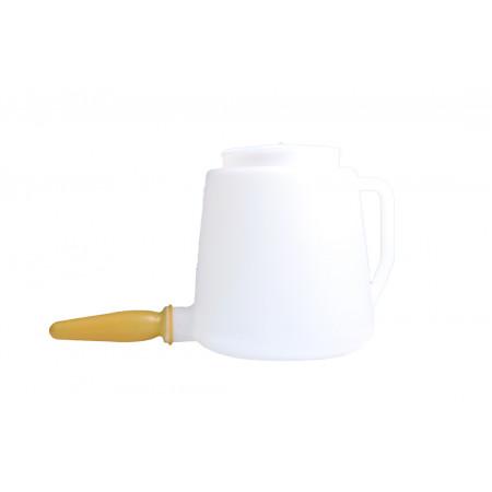 Biberon veau plastique 5 litres complet avec poignée