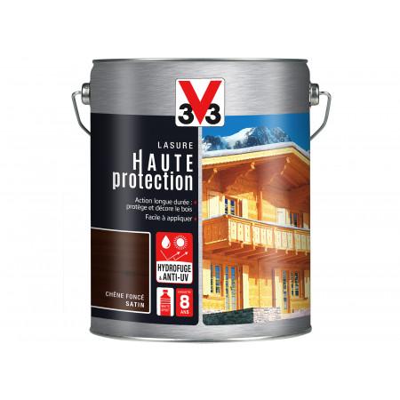 Lasure Haute Protection V33 Chêne foncé 5L