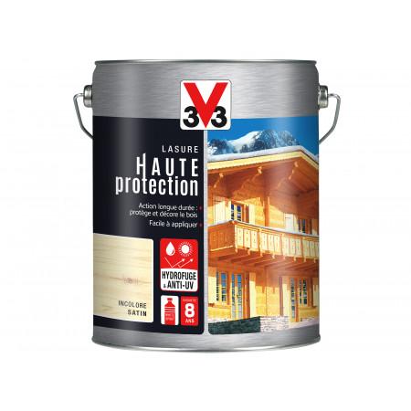 Lasure Haute Protection V33 Incolore 5L