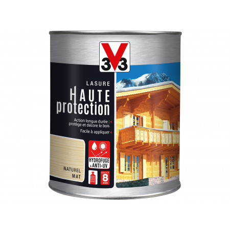 Lasure Haute Protection V33 Naturel 1L