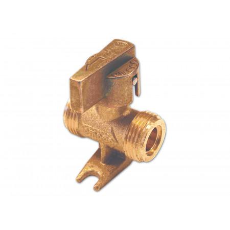 Vanne butane / propane 1/4 de tour MM 20x150