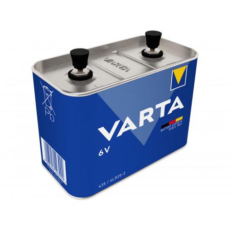 Pile 4R25 6V alcaline à visser VARTA