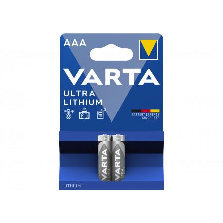Pile lithium LR03 1,5V x2 VARTA