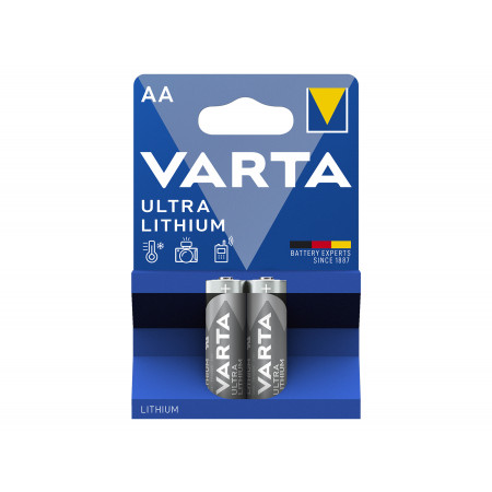 Pile lithium LR06 1,5V x2 VARTA