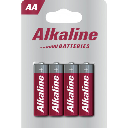 Piles alcalines VARTA LR6-AA x4