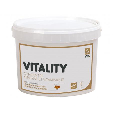 Vitality concentré minéral et vitaminique VIA 3kg