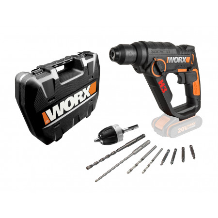 Perforateur burineur sans fil 20V WORX WX390.9